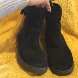 Olukai suede boots